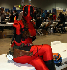 IMG_0888 (willdleeesq) Tags: costumes cosplay cosplayer marvel comiccon marvelcomics cosplayers lbcc deadpool ladydeadpool longbeachcomiccon