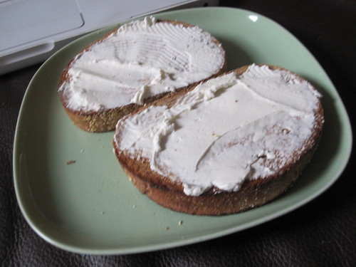 Cream cheese toast