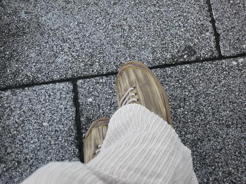 Esperando en la estacion