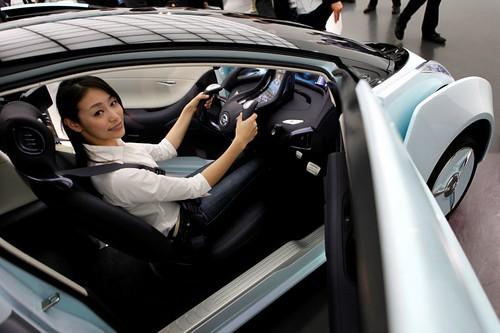 Nissan Land Glider Auto show Japón