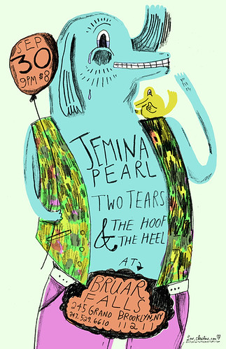 Jemina Pearl, Two Tears, The Hoof and the Heel POSTER!