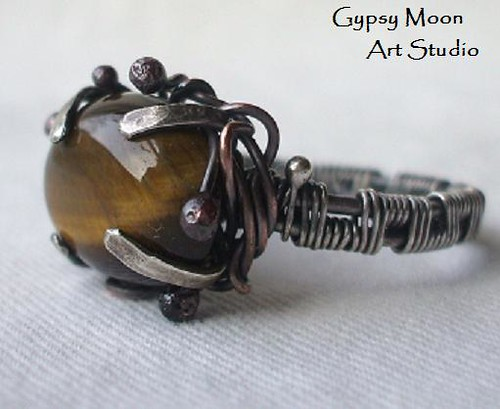 4004049709 e0aaa6a414 Tigers Eye Ring