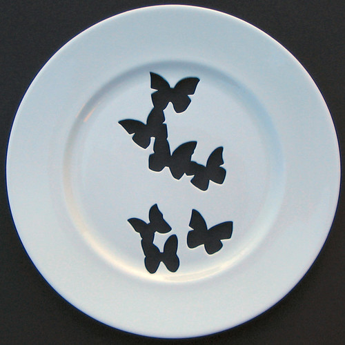 andrew tanner butterfly plate