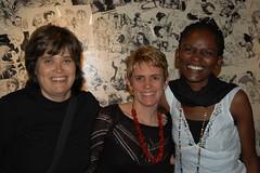 Angela Spencer, Corinne Sandwith & Susan Kiguli