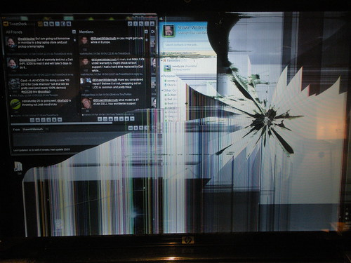 Broken DV7T Screen
