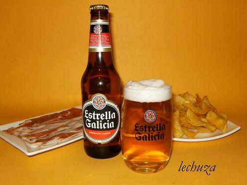 Estrella Galicia-botellín