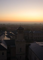 St Johns Asylum Water Tower - Dawn View (ricklus) Tags: uk urban st hospital nikon ruin sigma lincolnshire bracebridge heath lincoln 1020mm exploration asylum derelict johns mental urbex sigma1020mm mids d40 urbexing ricklus bbcheadroom midsurbexing soundsmental