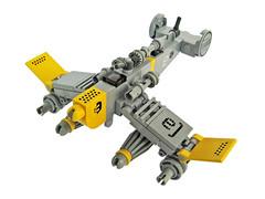 Higen Zero - Sky Fighter (Fredoichi) Tags: fighter lego space military micro skyfi microscale skyfighter fredoichi