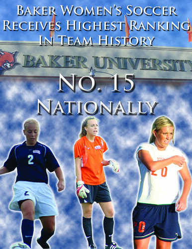 Women's Soccer No. 15
