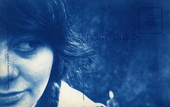 (kiwikewlio) Tags: selfportrait postcard wishyouwerehere cyanotype alternativeprocess umsteadstatepark altprocess alternativeprocessphotography