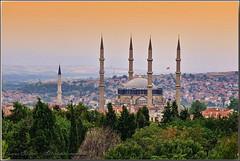 Selimiye Mosque and Edirne (Yavuz Alper) Tags: old city architecture europe european cityscape capital turkiye border ottoman sinan ciger edirne camii helva selimiye adrianopolis peynir badem mimarsinan sabun trakya selimiyemosque peynirhelvası ciğertava
