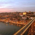 Porto: ao anoitecer