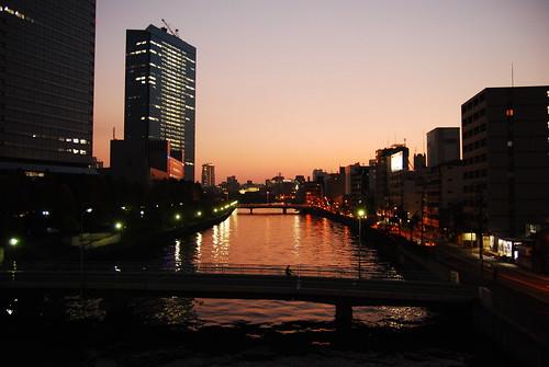 水都の夕暮れ