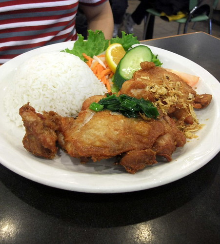 Fried Chicken Fillet with Rice