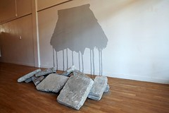 """A Distant Memory"" (2009) installation by Siliga David Setoga (Colour Me Fiji) Tags: southauckland freshgalleryotara pacificarts manukauarts manukaufestivalofarts siligadavidsetoga nosensemakingcents"