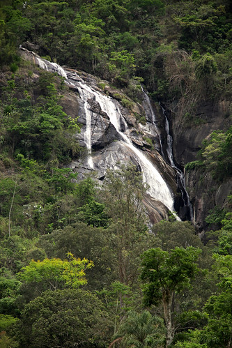 bocaina brazil forest MG rocks trees travel water waterfall