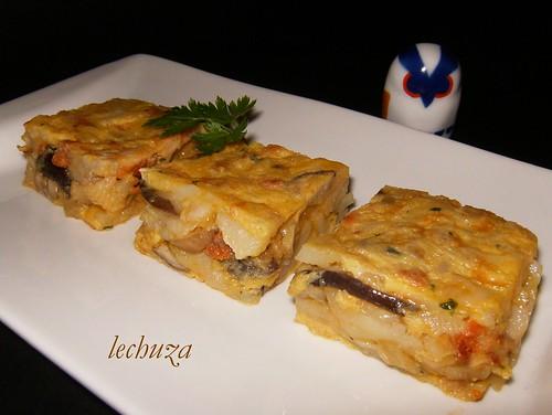 Tortilla de Boletus-emplatado.
