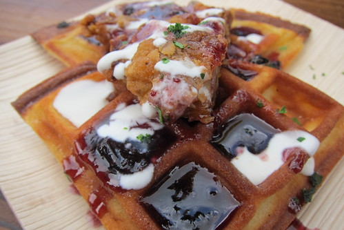 Heirloom LA Truck: Jidori Chicken & Waffles
