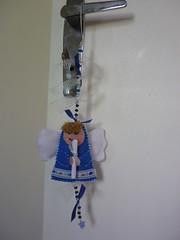 Anjinho (Arteecologica) Tags: arte artesanato feltro reciclagem santo anjo arteecolgica vilmanavarro