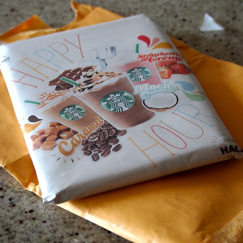 mystery package in the mail