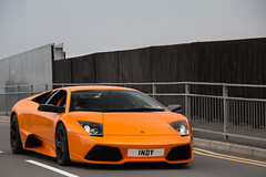 Independent. (Alex Penfold) Tags: lamborghini murcielago lp640 orange black rims murci lambo lp 640 lp6404 1ndy 1 ndy indy silverstone fia gt1 photos supercars super car cars auto mobile hyper sports sport sportscar hypercar hypercars supercar sportscars canon 60d eos alex penfold alexpenfold flickr spotting spotted spotter spot awesome cool flash exotic exotica photography photograph photo camera image picture 2011 numberplate