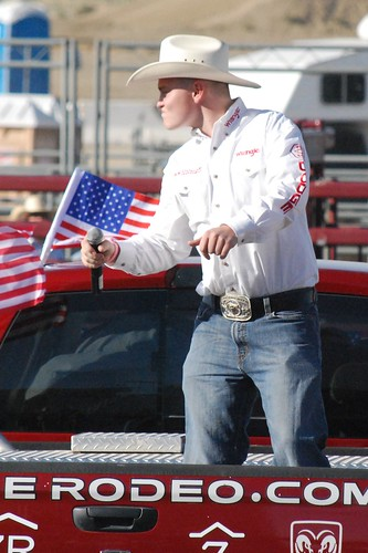 Jacob Nelson Professional Bull Riders 4th of July