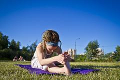 Йога \ Yoga in Odintsovo