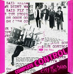 The Clash - Complete Control / City Of The Dead (1977) (stillunusual) Tags: theclash completecontrol cityofthedead single vinyl sleeve artwork picturesleeve punk punkrock bside 1970s 1977
