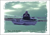 "PEACE ON THE SHORELINE (❀ P❀ppy ❀ ""off"") Tags: man fishing photographer smile smiling happy peace tranquil calm sea island islandlife merseaisland mersea ocean camera art artwork poem poetry prose dedication soundtrack quotation quote peaceontheshoreline markpistel phillipmsteir chrisrea gonefishing vessel craft vehicle theoldmanandthesea ernesthemingway gentleman ladygrace ap poppy poppycocqué p☆ppyc☆cqué"