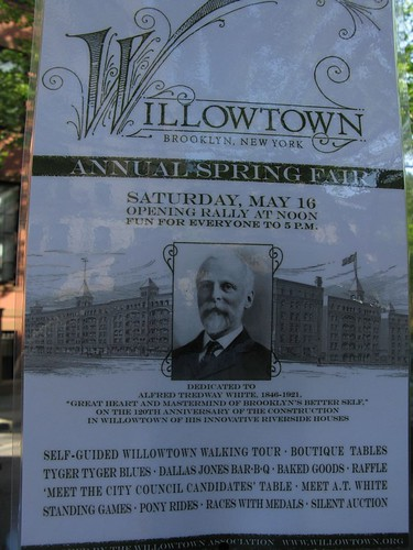Willowtown Spring Fair Flier