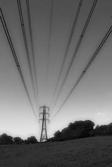 Overhead Transmission (Oliver Wood Photography) Tags: photoshop high nikon cheshire line pylon electricity powerline transmission blackdiamond voltage nationalgrid prestbury d80 oliverwood aplusphoto 275000volts 275kv