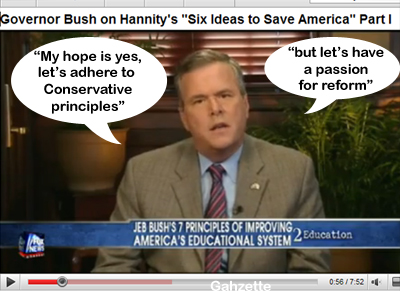 Jeb on Hannity
