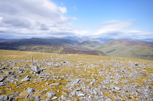 Ben Lawers from Ben Chonzie