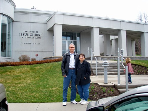 Don & Mary @ Hill Cumorah Visitor's Center