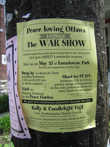 war protest, May 27