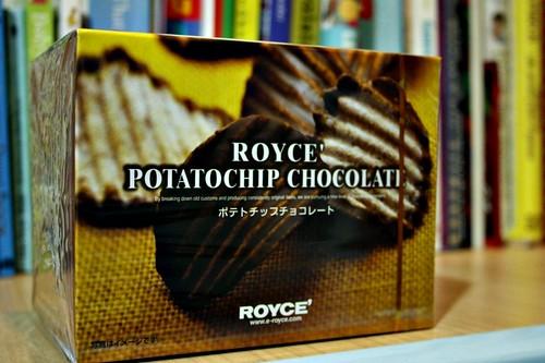 royce' potatochip chocolate