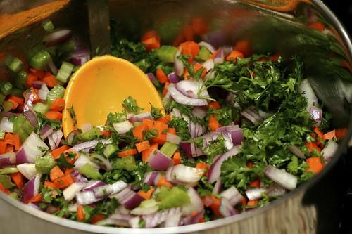 Rhubarb-Lentil Soup