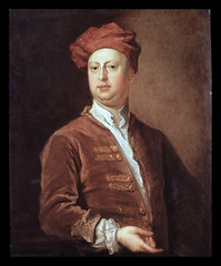 William Kent (Martin Beek) Tags: portrait designer architect baroque npg tutorial rousham williamkent bartholemewdandridge