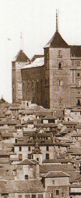 Iglesia de San Justo en 1872. Fotografía de Jean Laurent (detalle). Archivo Ruiz Vernacci