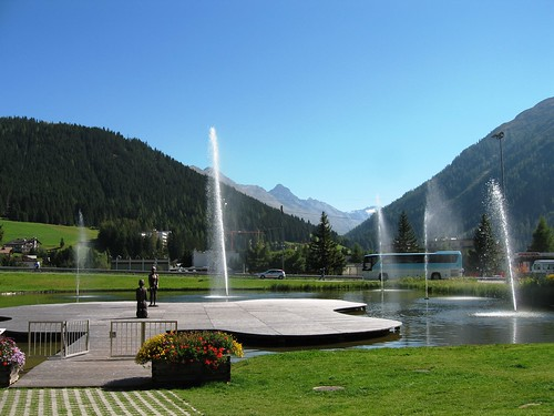 Davos, host village of the World Economic Forum