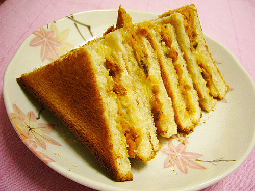 otak cheese toast