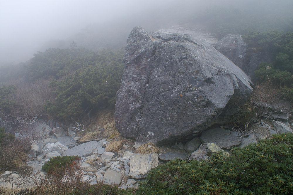 南湖大山day3-150 漂礫?