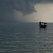 Fishing Boat before Storm