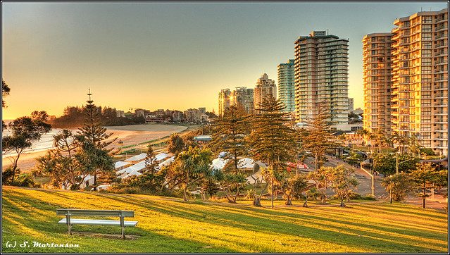 Coolangatta at sunrise