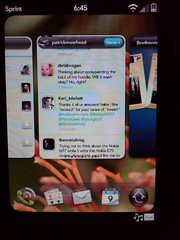 Palm Pre Tweed Twitter Client