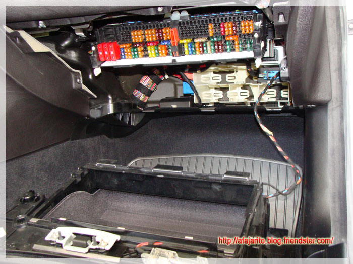bmw e30 fuse box removal diy blog: hardwiring v1 and v1 concealed display to a bmw ...