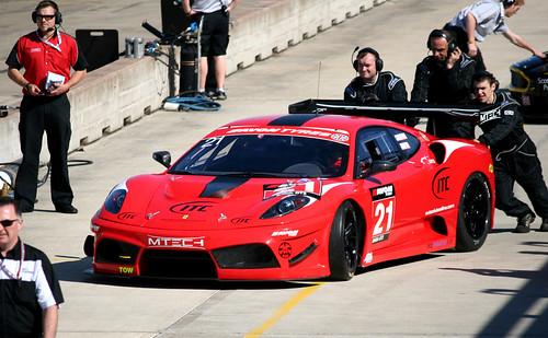 Ferrari F430 GT3 (Pits)