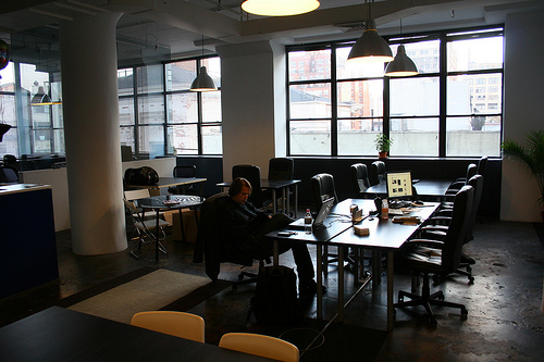 new work city, coworking