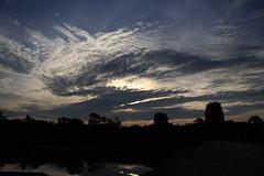 Clouds Above Angkor Wat
