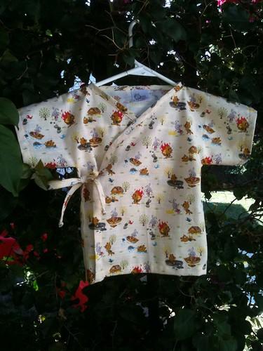 Summer kimono for Oliver